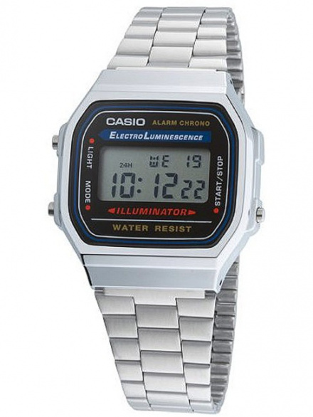 Zegarek Casio A168WA-1YES Casio Vintage w stylu Retro A168WA -1YES