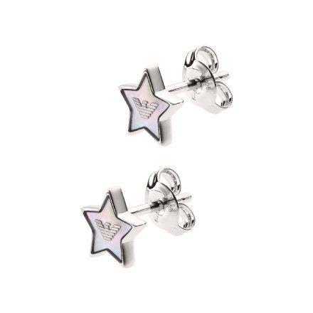 Kolczyki damskie Emporio Armani EG3396040 Oryginalna Biżuteria EA