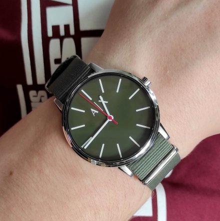 AX2709 Armani Exchange Cayde zegarek AX z paskiem