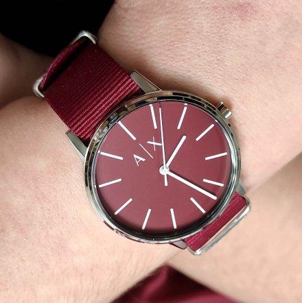 AX2711 Armani Exchange Cayde zegarek AX z paskiem