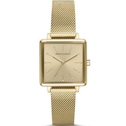 AX5801 Armani Exchange LOLA SQUARE zegarek damski AX z bransoletką
