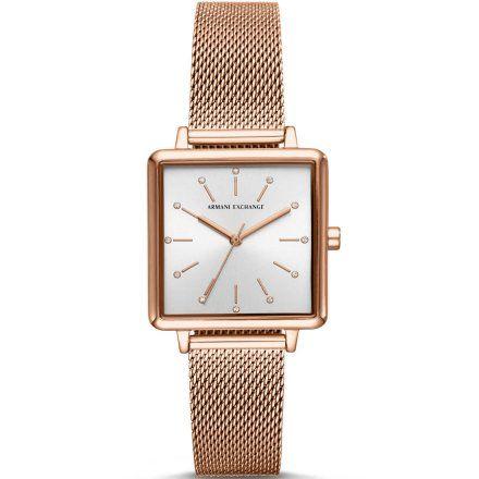 AX5802 Armani Exchange LOLA SQUARE zegarek damski AX z bransoletką
