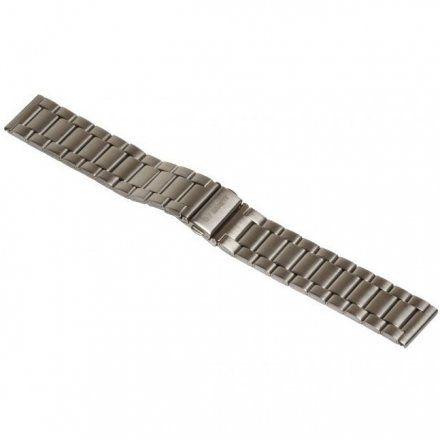 Pasek do Garett GT13, srebrny stalowy