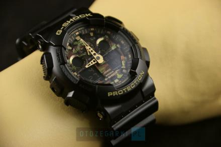 Zegarek Casio GA-100CF-1A9ER G-Shock GA-100CF -1A9ER