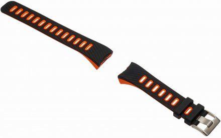 Pasek do Garett Fit 23 GPS, czarno-pomarańczowy
