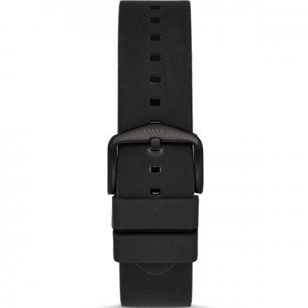 Czarny pasek Smartwatch Fossil FTW4025 22 mm