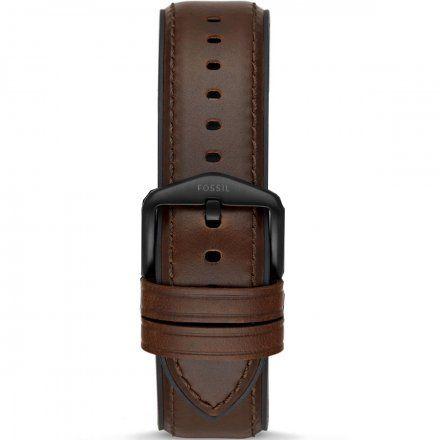 Brązowy pasek Smartwatch Fossil FTW4026 22 mm