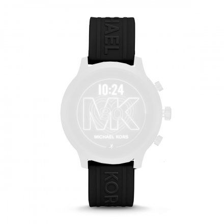 Czarny pasek Michael Kors Access MKT5072 20 mm