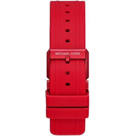 Czerwony pasek Michael Kors Access MKT5073 20 mm