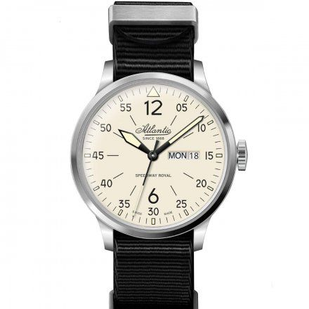 Zegarek Męski Atlantic Speedway Royal Day Date 68351.41.95NY