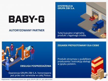 Zegarek Casio BSA-B100AC-5AER Baby-G BSA B100AC 5A