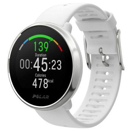 Polar IGNITE Biały S zegarek fitness z GPS