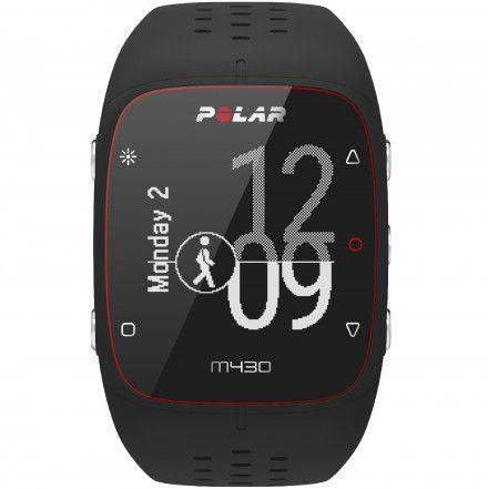 POLAR M430 (S) Czarny zegarek do biegania z GPS
