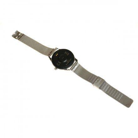 Srebrny smartwatch damski Rubicon RNBE37SIBX05AX