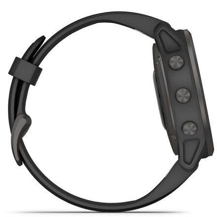 Zegarek Garmin Fenix 6S PRO Sapphire Szary DLC z czarnym paskiem 010-02159-25