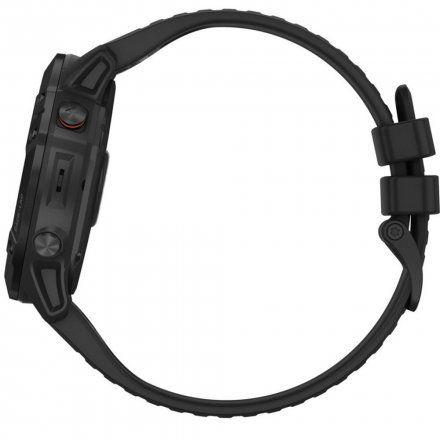 Zegarek Garmin Fenix 6X PRO Czarny z czarnym paskiem 010-02157-01