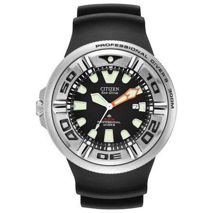 Citizen BJ8050-08E Zegarek Męski na pasku Eco Drive Citizen Promaster Professional Diver