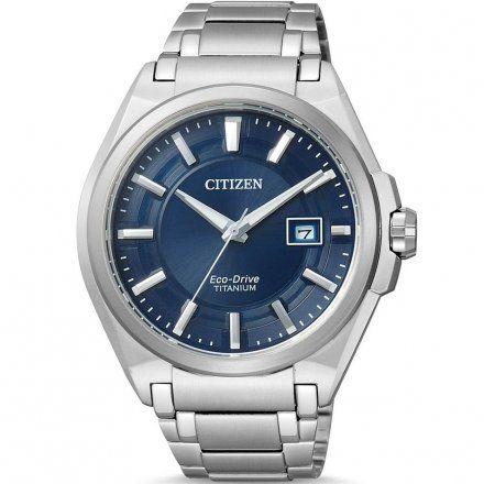 Citizen BM6930-57M Zegarek Męski na bransolecie Eco Drive Titanium
