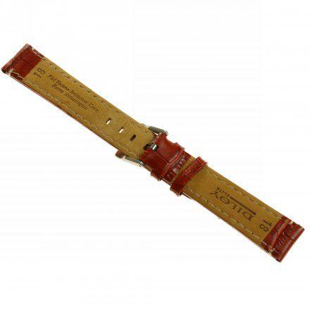 Pasek DILOY Superior 361.16.08 Skórzany Brązowy Matowy 16 mm - GRATIS dwa teleskopy i narzędzie