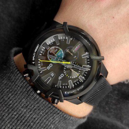 Diesel DZ4520 Zegarek Męski Na pasku Z Kolekcji Griffed