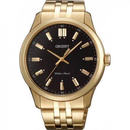 ORIENT SQC0U001B0 Zegarek Męski Kwarcowy Japońskiej Marki Orient