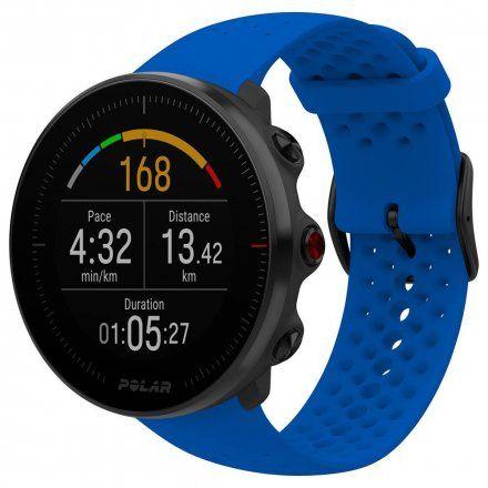 Polar VANTAGE M Niebieski zegarek z pulsometrem i GPS