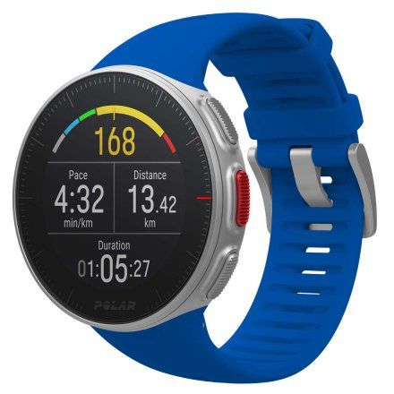Polar VANTAGE V Niebieski zegarek z pulsometrem i GPS + Pas H10
