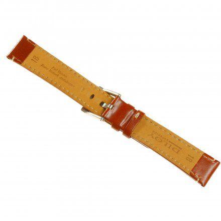 Pasek DILOY Fashion 373.16.03 Skórzany Jasny Brąz 16 mm - GRATIS dwa teleskopy i narzędzie