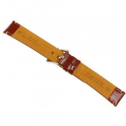 Pasek DILOY Fashion 373.18.04 Skórzany Brąz 18 mm - GRATIS dwa teleskopy i narzędzie