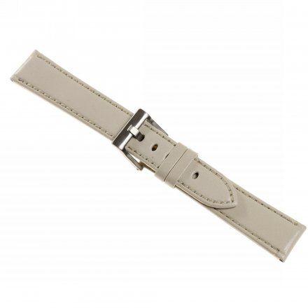 Pasek DILOY Fashion 373.18.07 Skórzany Szary 18 mm - GRATIS dwa teleskopy i narzędzie
