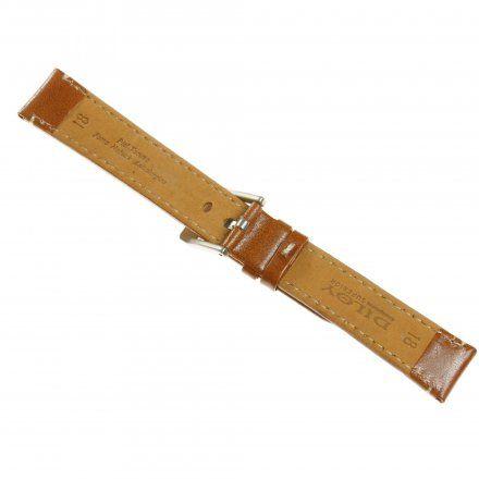 Pasek DILOY Fashion 373.18.09 Skórzany Jasnobrązowy 18 mm - GRATIS dwa teleskopy i narzędzie