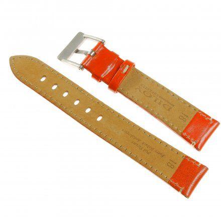 Pasek DILOY Fashion 373.18.12 Skórzany Czerwony 18 mm - GRATIS dwa teleskopy i narzędzie
