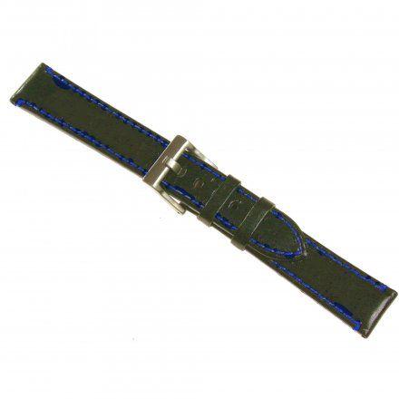 Pasek DILOY Fashion 373.20.52 Skórzany Czarny 20 mm - GRATIS dwa teleskopy i narzędzie
