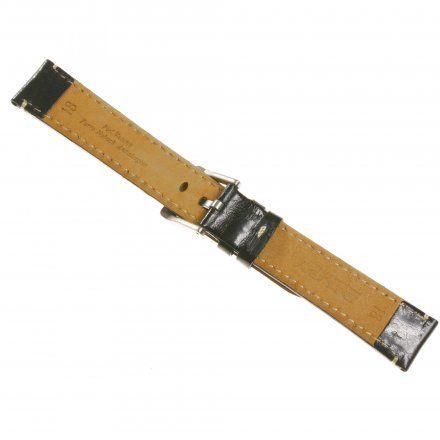Pasek DILOY Fashion 373.22.01 Skórzany Czarny 22 mm - GRATIS dwa teleskopy i narzędzie