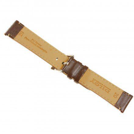 Pasek DILOY Fashion 373.22.02 Skórzany Brazowy 22 mm - GRATIS dwa teleskopy i narzędzie