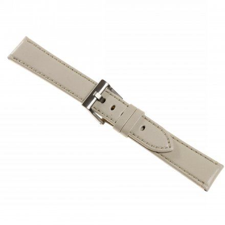 Pasek DILOY Fashion 373.22.07 Skórzany Szary 22 mm - GRATIS dwa teleskopy i narzędzie