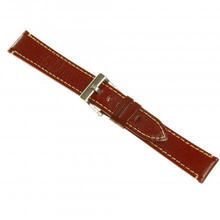 Pasek DILOY Fashion 373.24.04 Skórzany Brąz 24 mm - GRATIS dwa teleskopy i narzędzie