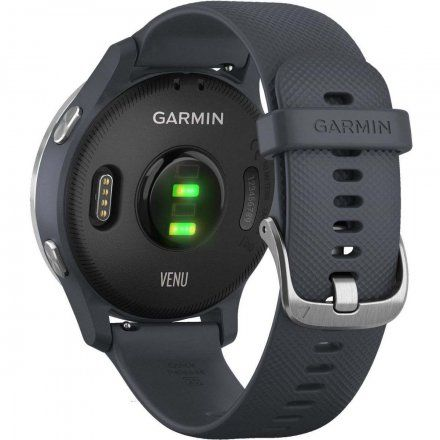 GARMIN Venu HR GPS Granatowy ze srebrnymi detalami 010-02173-03