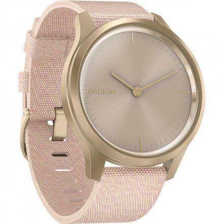 GARMIN Vivomove Style Złoty z różowym paskiem 010-02240-22