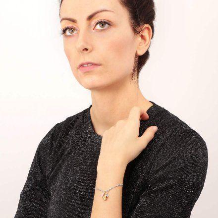 Bransoletka damska z charmsami LA PETITE STORY JEWEL LPS05AQA04