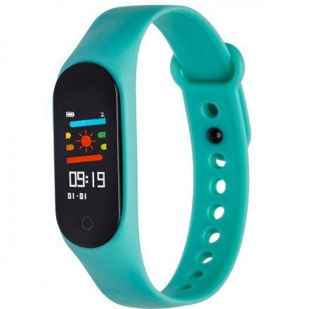 Opaska sportowa Smartband Garett Fit 7 Plus Zielona