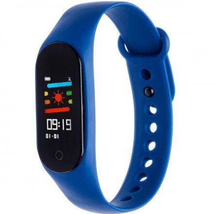 Opaska sportowa Smartband Garett Fit 7 Plus Niebieska
