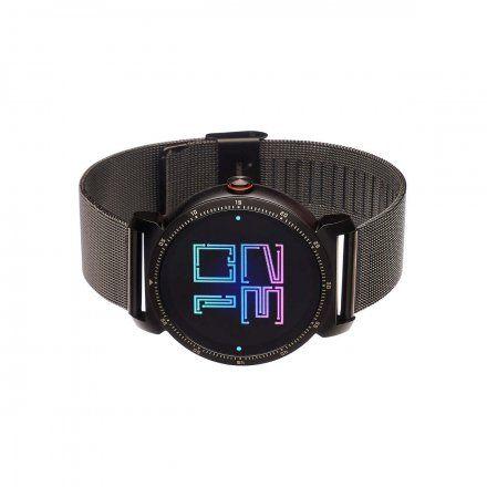 Smartwatch Garett GT20S czarny stalowy