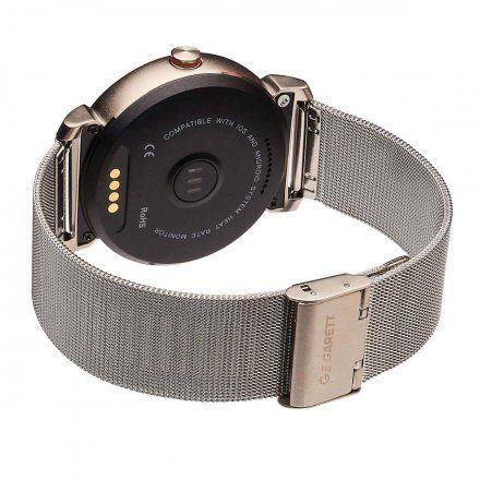 Smartwatch Garett GT20S srebrny stalowy