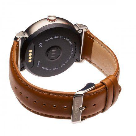 Smartwatch Garett GT20S srebrny brąz