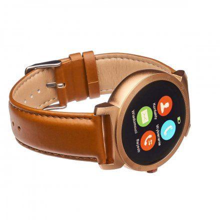 Smartwatch Garett GT20S złoty brąz