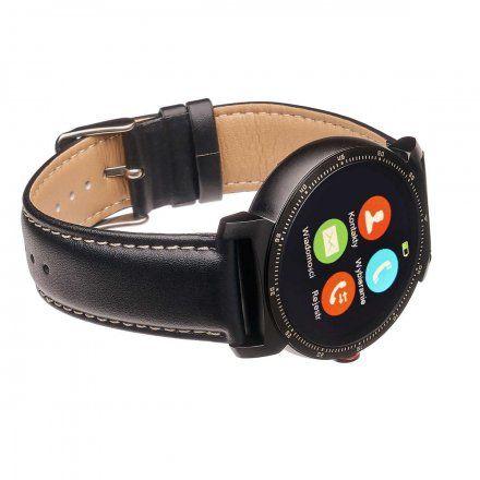 Smartwatch Garett GT20S czarny z paskiem