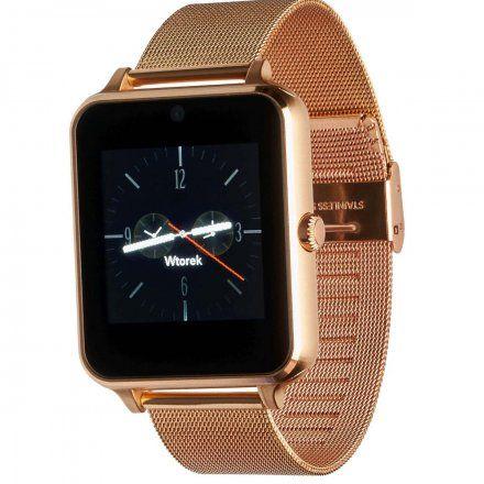 Smartwatch Garett G25 Plus złoty z bransoletką