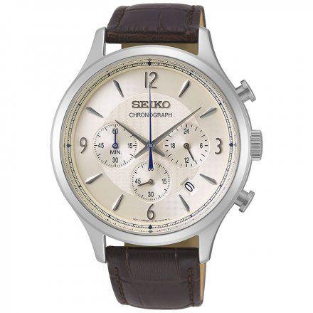 Seiko SSB341P1 Zegarek Męski Classic Chronograph