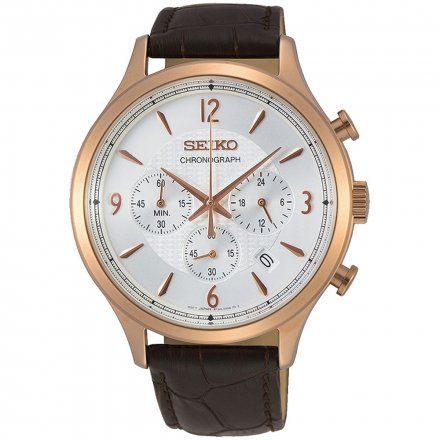 Seiko SSB342P1 Zegarek Męski Classic Chronograph
